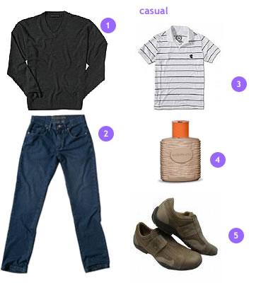 calca-jeans-camisaria-colombo-sapatenis-westcoast-desodorante-uomini-boticario-malha-camiseta-casual