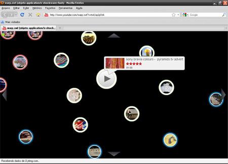 Youtube Nova Interface